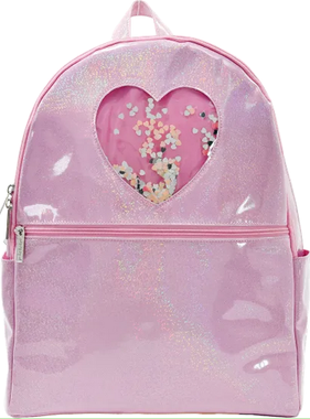 Iscream 810-1300 Heart Confetti Backpack