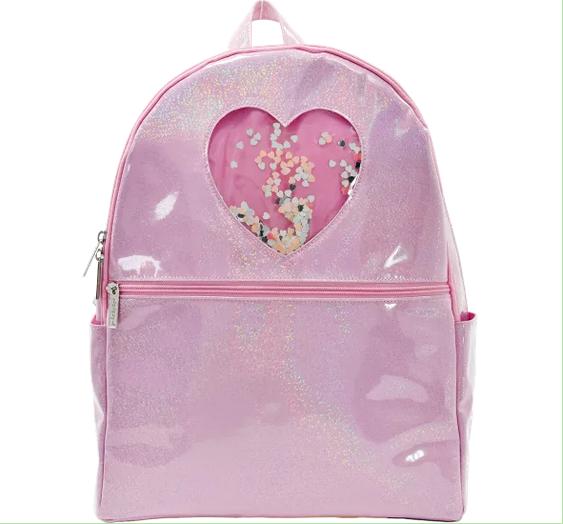 Iscream 810-1300 Heart Confetti Backpack
