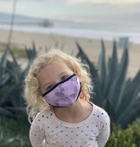 Face Mask Kids Face Mask-Whale Teal