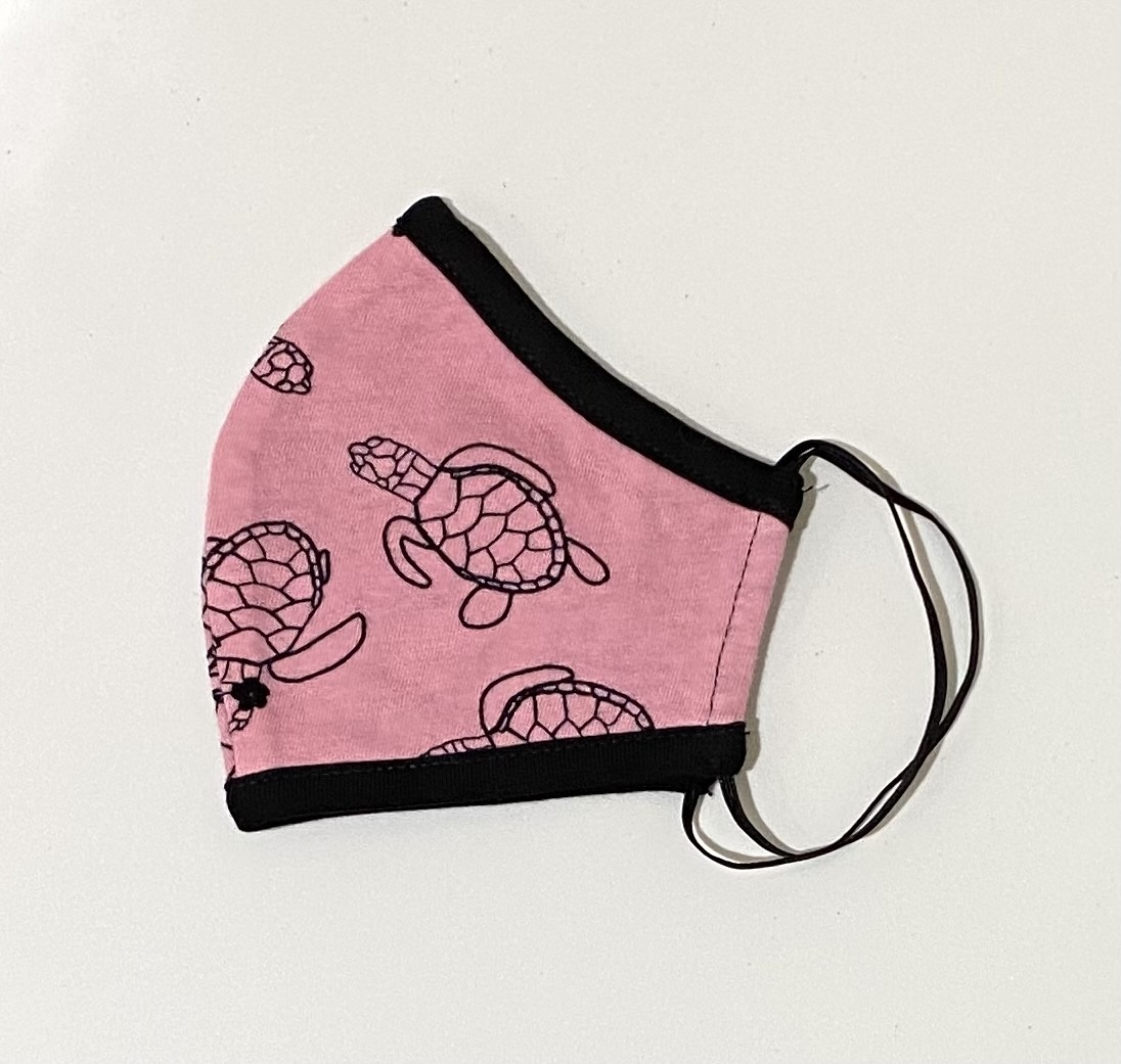 Face Mask PKP Kids Face Mask Turtle Coral