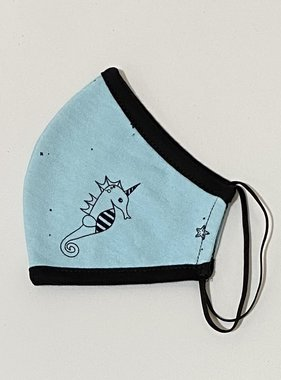 Face Mask PKP Face Mask Seahorse - Aqua