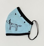 Face Mask PKP Face Mask Puppy Party - Baby Blue