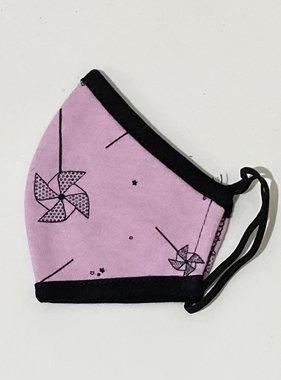 Face Mask PKP Kids Face Mask Pinwheel - Peony Pink