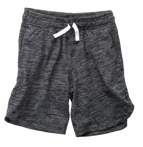 Wes And Willy Boy Cloudy Short, Black