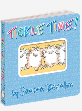 Workman Publishing Co BOYNTON Book: TICKLE TIME!