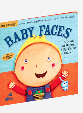 Workman Publishing Co Indestructible-Baby Faces