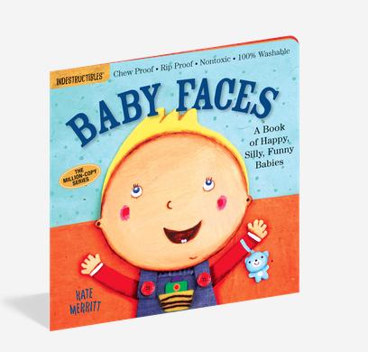 Workman Publishing Co Indestructible-Baby Faces