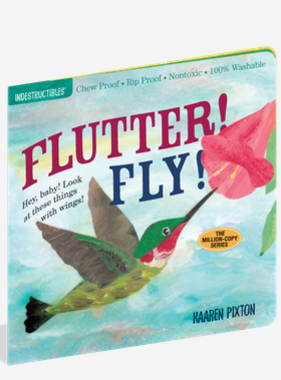 Workman Publishing Co Indestructible-Flutter Fly