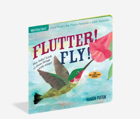 Workman Publishing Co Indestructible-Flutter Fly