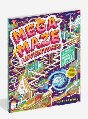 Workman Publishing Co MEGA-MAZE BOOK