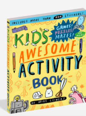 Workman Publishing Co Kids Awesome Activity Book