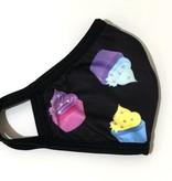Face Mask CRZ Face Mask, Cupcakes