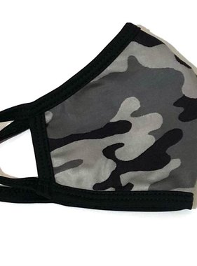 Face Mask CRZ Face Mask Camo Gray