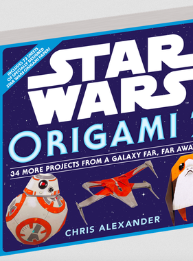 Workman Publishing Co Star Wars Origami 2