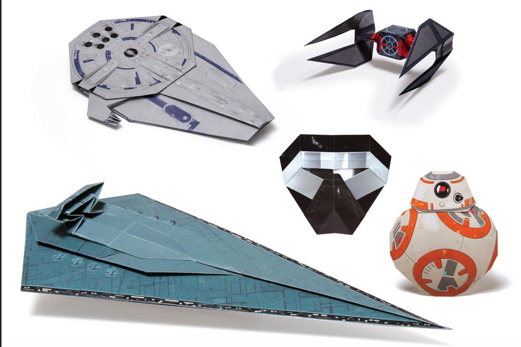 Workman Publishing Co Star Wars Origami 2
