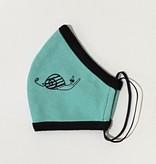 Face Mask PKP Kids Face Mask Snail - Teal