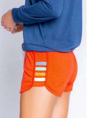 Pj Salvage RXRLS Retro Lounge Short Fire