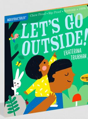 Workman Publishing Co Indestructibles-Let's Go Outside