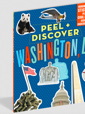 Workman Publishing Co Peel & Discover-Washington DC