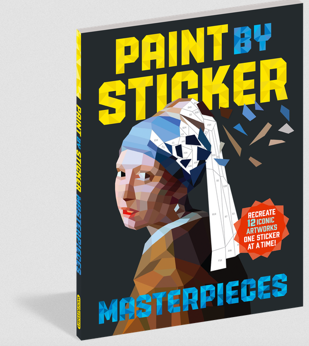 Workman Publishing Co Paint By Sticker-Masterpieces