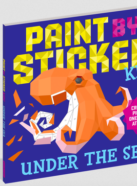 Workman Publishing Co Paint By Sticker Kids: Under the Sea