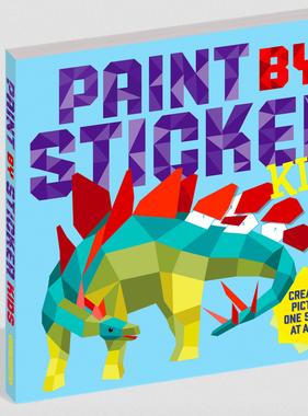 Workman Publishing Co PAINT BY STICKER-KIDS