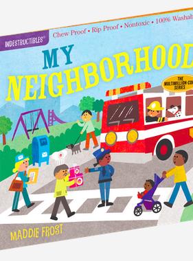 Workman Publishing Co Indestructible- My Neighborhood