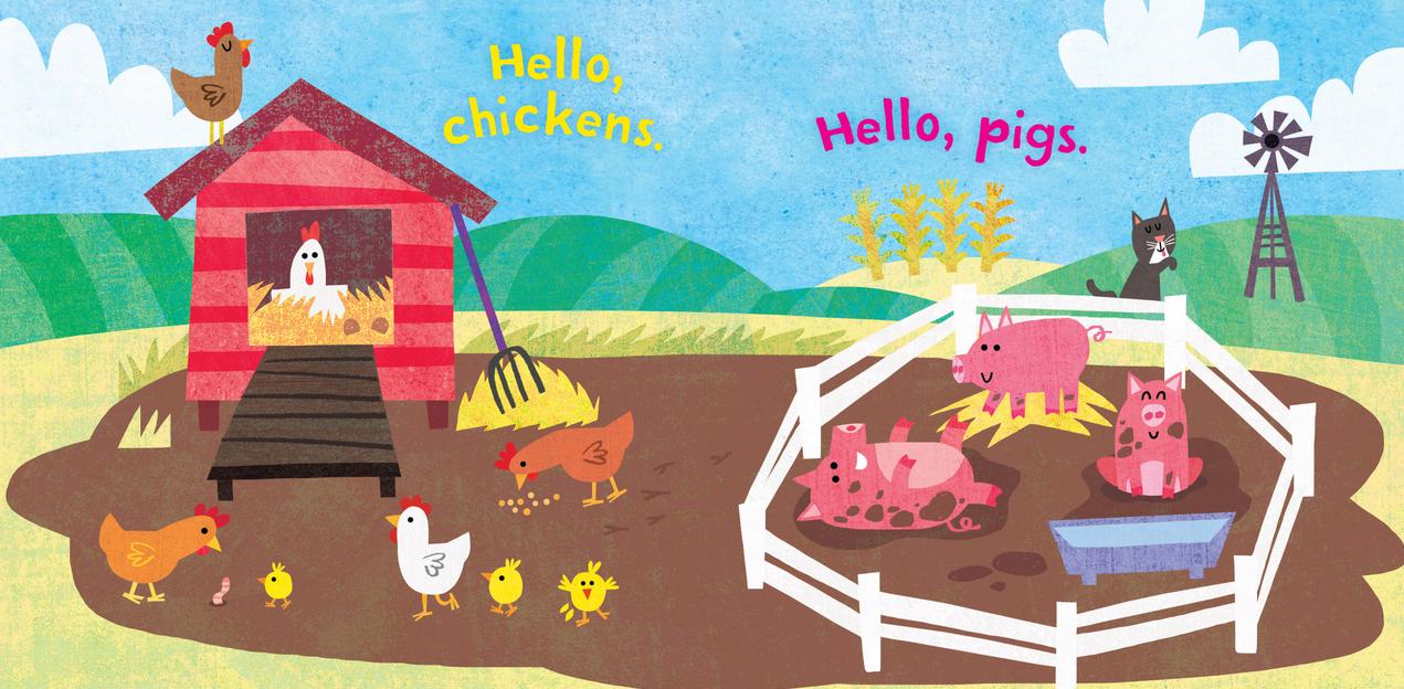 Workman Publishing Co Indestructible-Hello Farm