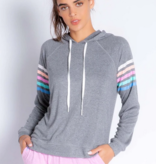 Pj Salvage RXCLHDPJH Hoody Color Clash H. Charcoal