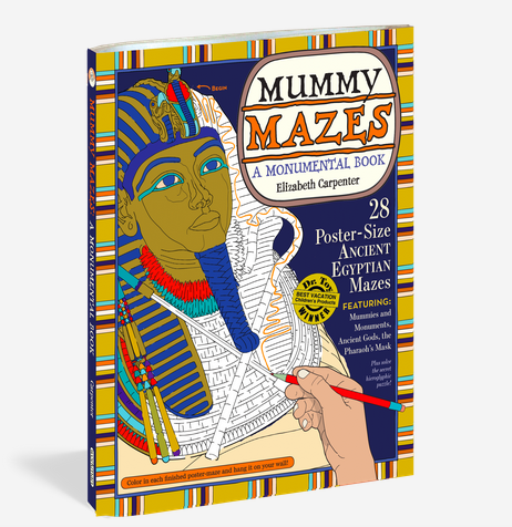 Workman Publishing Co MUMMY MAZES: A MONUMENTAL BOOK-PAP