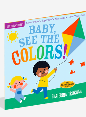 Workman Publishing Co Indestructibles-Baby See the Colors