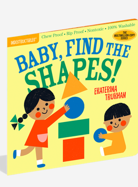 Workman Publishing Co Indestructibles-Find the Shapes