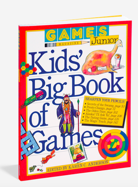 Workman Publishing Co GAMES JUNIOR KIDS' BIG BOOK OF GAMES
