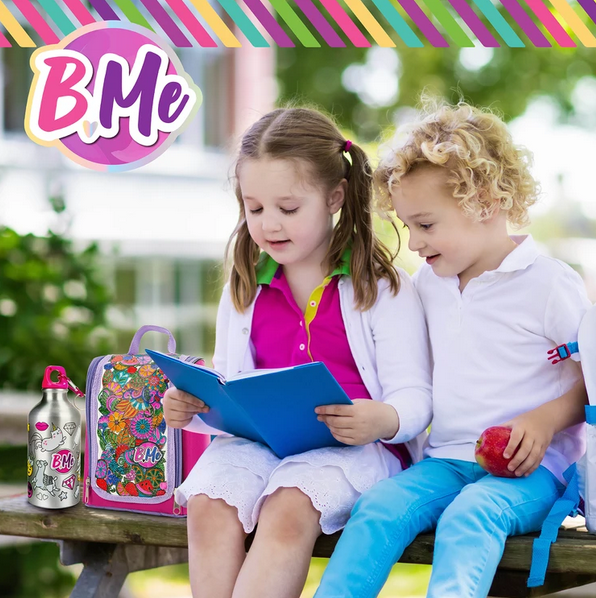 Creative Kids B Me DIY Snack Pack Color-Your-Own Lunch Bag & Water Bottle