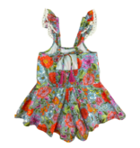Mimi & Maggie 2579 Sunday Morning Romper, Multi