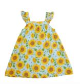 Angel Dear Sunflowers Sundress Whispering Blue