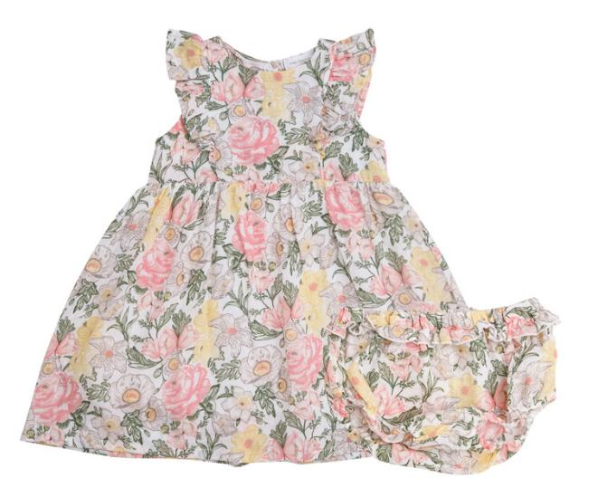 Angel Dear Traditional Floral Dress, Multi