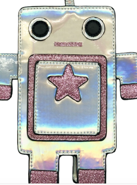 Novelty Purses Purse-Shimmer Robot