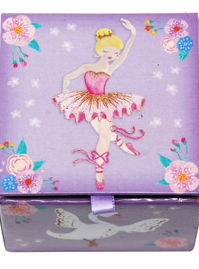 Pink Poppy Mini Music Box-Ballet