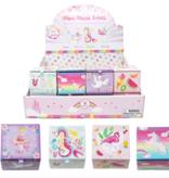 Pink Poppy Mini Music Box-Fabulous Flamingo