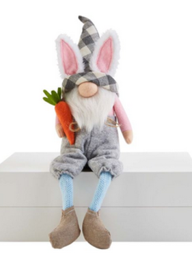 Mudpie CARROT DANGLE LEG GNOME
