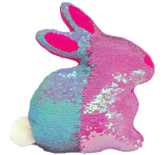 Iscream 780-1196 Bunny reversible pillow