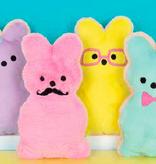 Iscream Bunny Cookie Furry Pillow