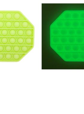 Bubble Pop Fidget Glow in the Dark Octagon POP