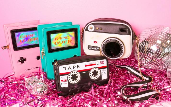 Novelty Purses Novelty Purse, Play A Tune Cassette Tape