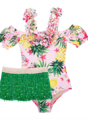 Shade Critters SG01C-186 Off Shldr 1pc-Hula Girl