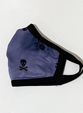 Face Mask CRZ Face Mask Pirate Blue Tie Dye