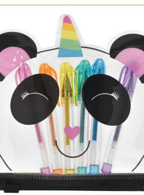 Iscream 710-095 Panda Mini Gel Pen Set