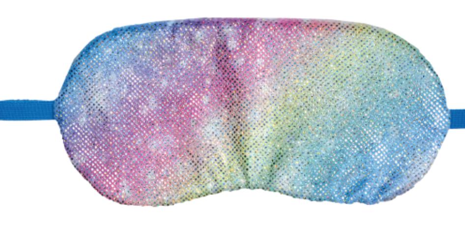 Iscream 880-201 Shimmering Rainbow Eye Mask