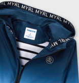 Mayoral 3419 04 Dip Dye Windbreaker Jacket, Nautical